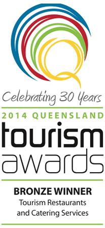 Queensland Tourism Awards 2014 Bronze Winner
