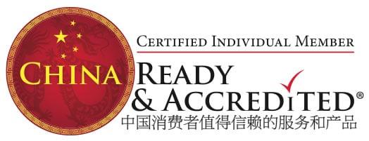 China Ready & Accredited Individual Member Logo