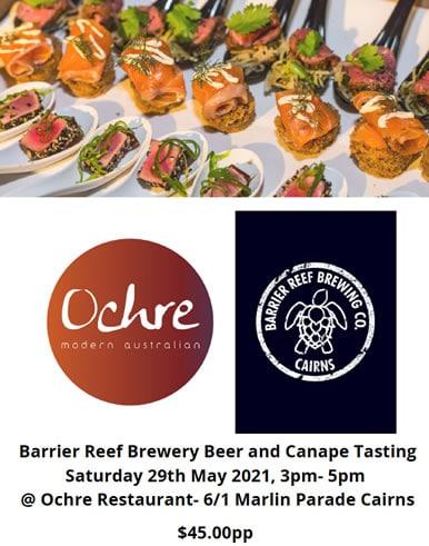 cairns beer tasting barrier reef brewery